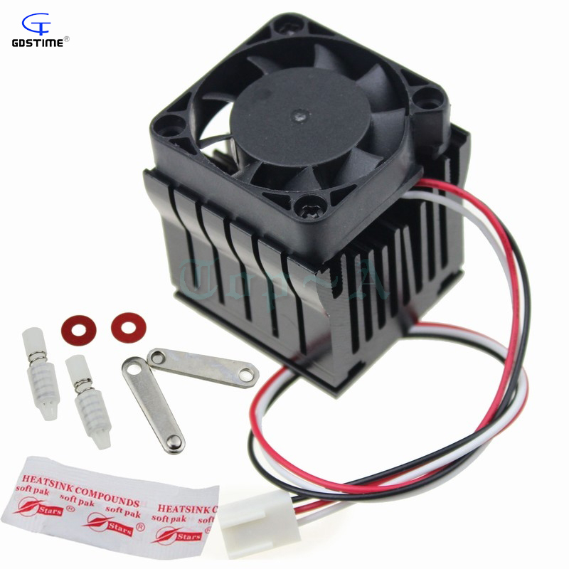 1 unidad 40mm x 10mm ventilador de refrigeración disipador de calor DIY Northbridge Cooler South North Bridge radiador para PC