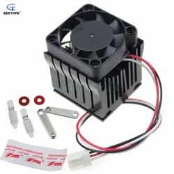 1pcs 40mm x 10mm Cooling Fan Heatsink DIY Northbridge Cooler South North Bridge Radiator for PC Computer