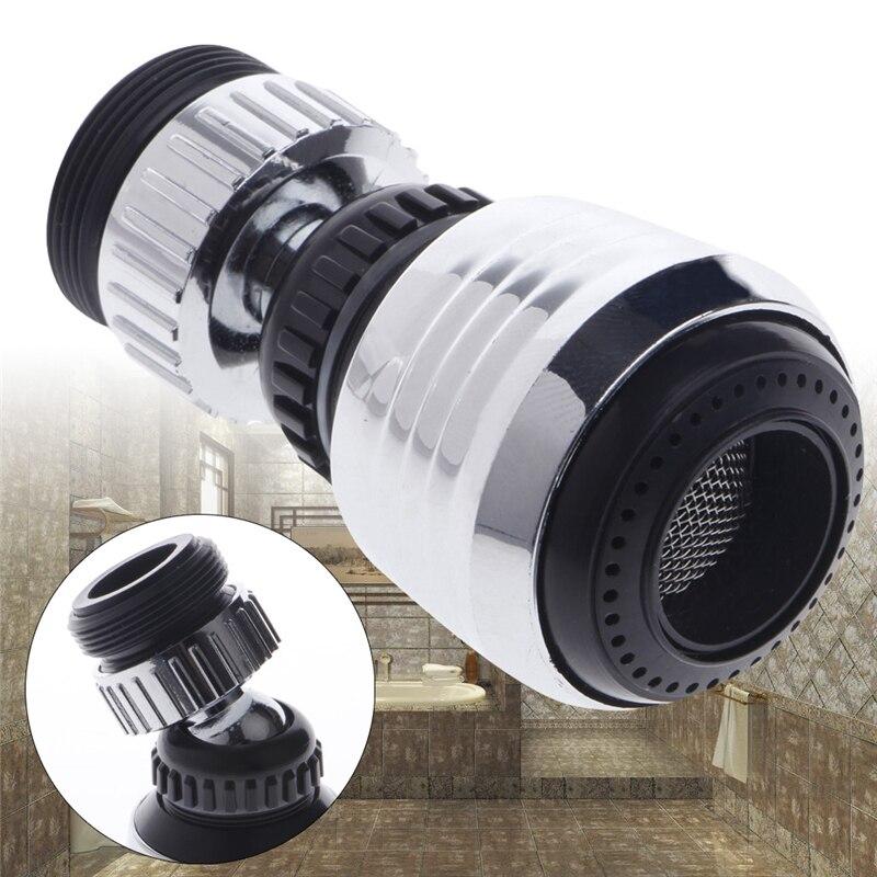 360 Drehen Swivel Wasserhahn Düse Filter Adapter Wasserspar Tap Diffuser Nice Geschenke