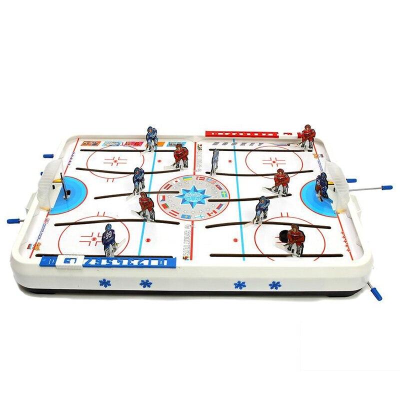 Tableau glace mini hockey jouet jeu bureau jeu interactif pour deux bataille eau Kit jeu boîte jeu jeu de société - 2