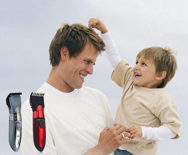 Impermeable Recargable Hombres Afeitadora Navaja Cortadora de Cabello Eléctrica Niño Bebé Hair Trimmer Máquina de Corte de Pelo
