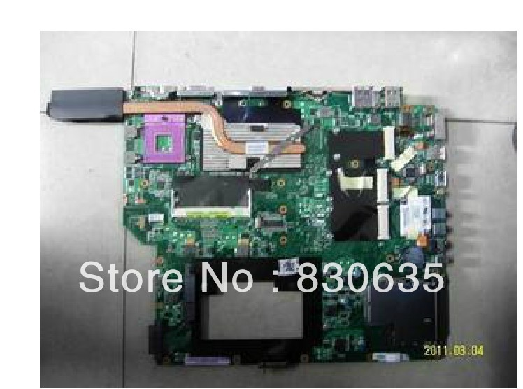 A7SN motherboard tested by system LAPTOP CASE