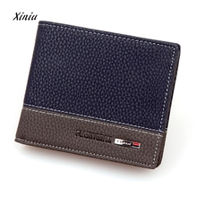 Мужской кожаный кошелек, держатель для карт, кошелек для монет, двойная сумка для денег, мужской модный клатч с карманами, высокое качество, Carteira, Лидер продаж