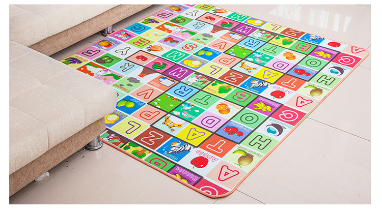 HTB1e8Pre8WD3KVjSZFsq6AqkpXaO Infant Shining 200*180*1.5CM Baby Play Mat Thickening Eco-friendly EPE Children Playmat Cartoon Non-slip Carpet Living Room Mat