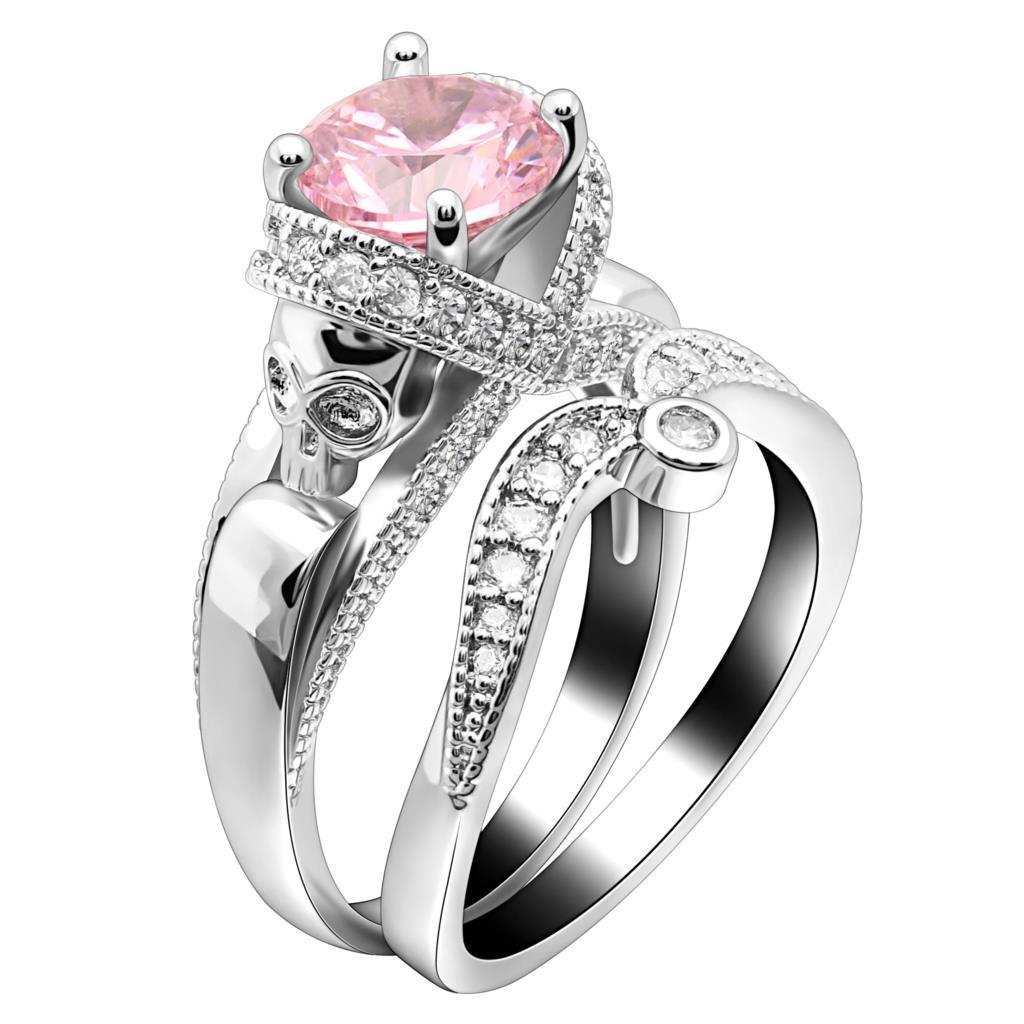 Aliexpress.com : Buy UFOORO Skull Ring Sets Luxury