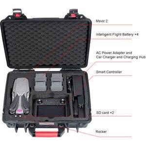 Image 3 - Smatree Waterproof Carrying Case for DJI Mavic 2 Pro/DJI Mavic 2 Zoom Fly More Combo,for DJI Smart Controller