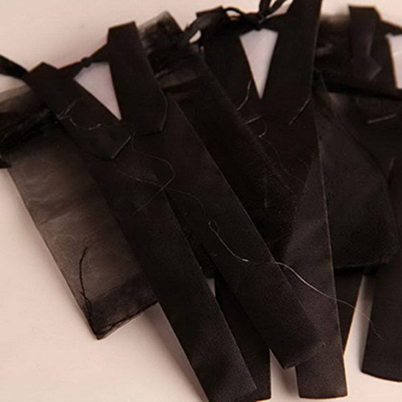 100 Pcs/Lots Organza cordon bonbons sac mariée marié faveurs de mariage fête décoration cadeau sac poche cadeaux de mariage pour les invités - 4