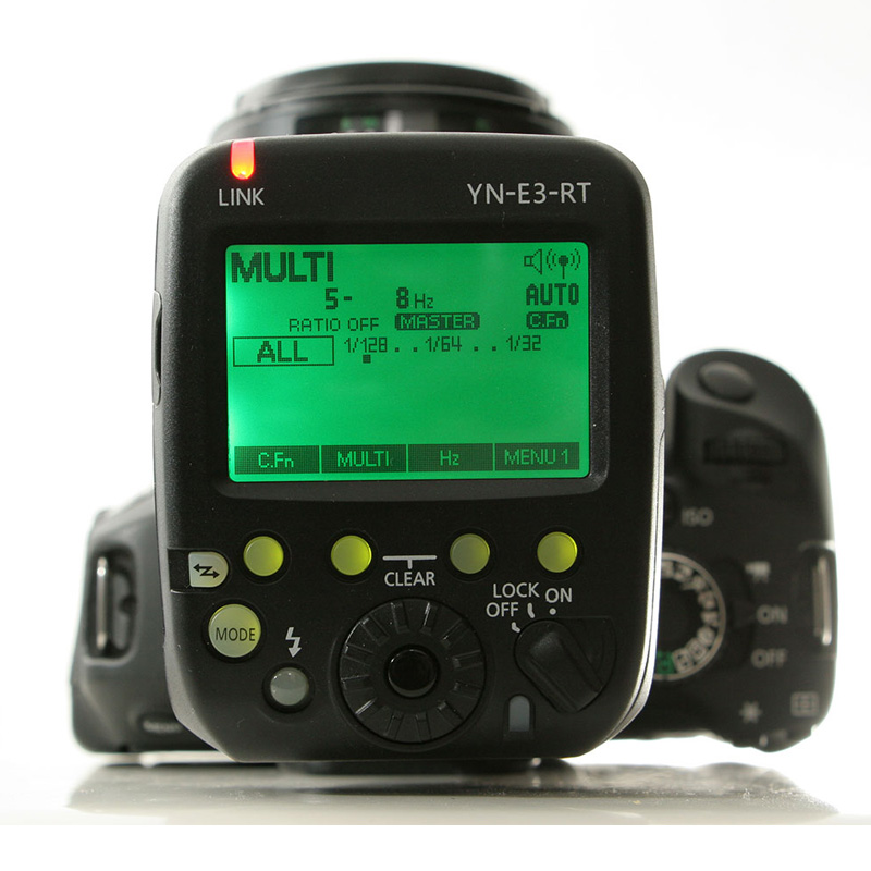 Ulanzi YONGNUO YN-E3-RT TTL Radio Trigger Speedlite Transmitter as ST-E3-RT for Canon Compatible with YONGNUO YN600EX-RT mcoplus mt e3 rt ttl radio trigger speedlite transmitter for canon 600ex rt as st e3 rt vs yn e3 rt