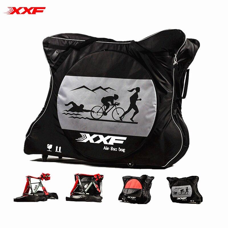2017 Accesorios Bicicleta Outdoor Transport Bag Fits Tt Triathlon Mtb Road Bikes Includes Pad Sets Bike Accessories Hot Sale