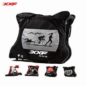 Image 1 - Xxfバイク旅行バッグケースバイクトライアスロンttためmtb 700Cロードバイク空気パッドプロテクター防水自転車アクセサリーbicicleta