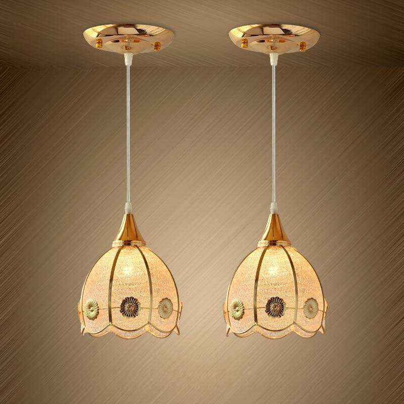 Nouveau Moderne Plafond de Verre Lampe Bar Cuisine Suspension ...
