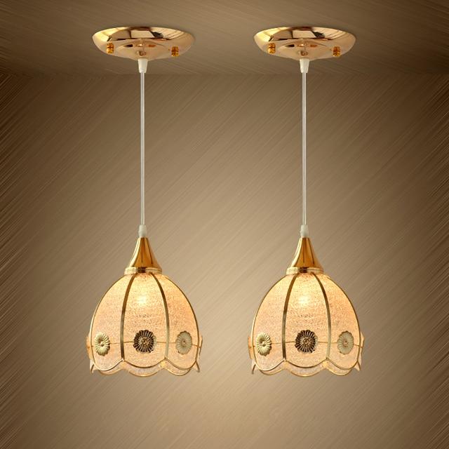 Nouveau Moderne Plafond De Verre Lampe Bar Cuisine Suspension