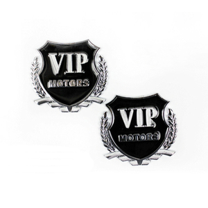 Image 4 - Car Styling VIP Car Metal Stickers For BMW Audi Opel KIA Hyundai Peugeot Ford Nissan Mazda Chevrolet Benz Accessories
