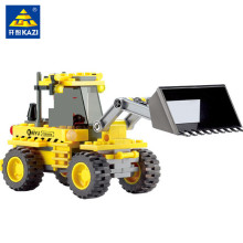 KAZI 8042 City Construction Bulldozer Building Blocks Develop Intellectual Block Assemble Toys Kids Christmas Gift