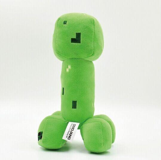 Хорошее Качество Minecraft Плюшевые Игрушки 18 см Хладнокровно Лианы Jj Куклы Игрушки Популярные Подарки