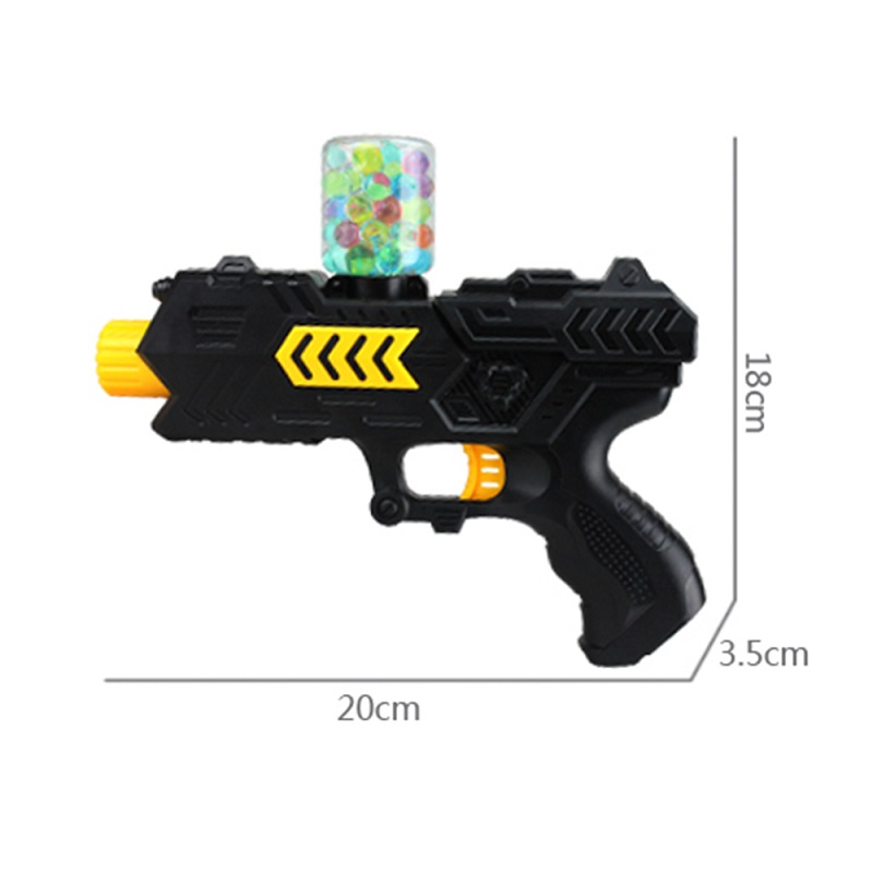 400pcs Water Gun Ball Orbis Ball Soft Paint Gun Pistol Soft Bullet CS Crystal Gun Outdoor Sports Toys orbis ob134712