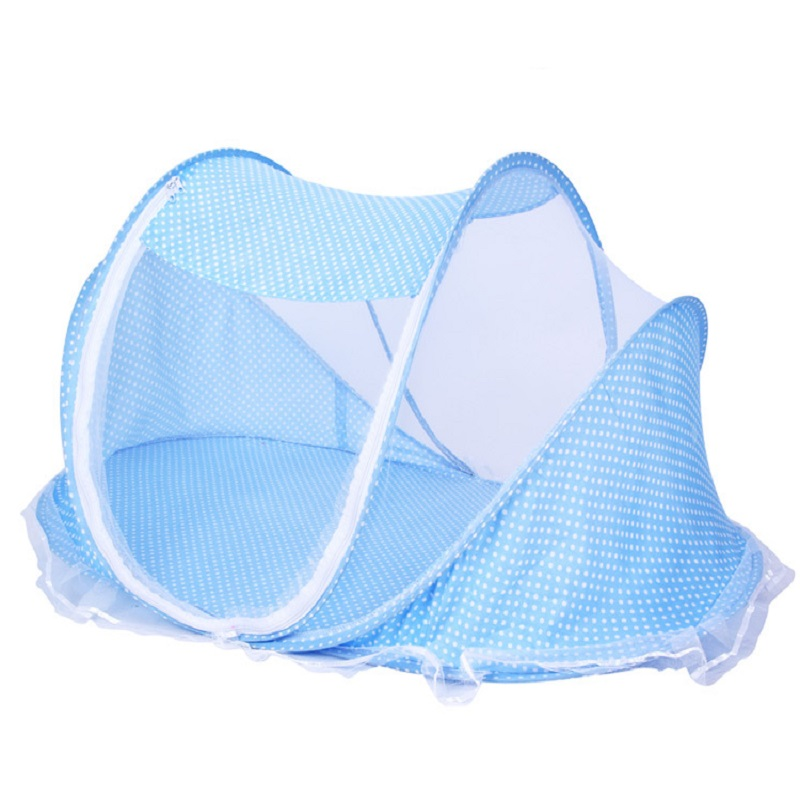 Hot Portable Baby Kids Bed Decorative Mosquito Net Baby Girl Folding - Tekstil rumah - Foto 4