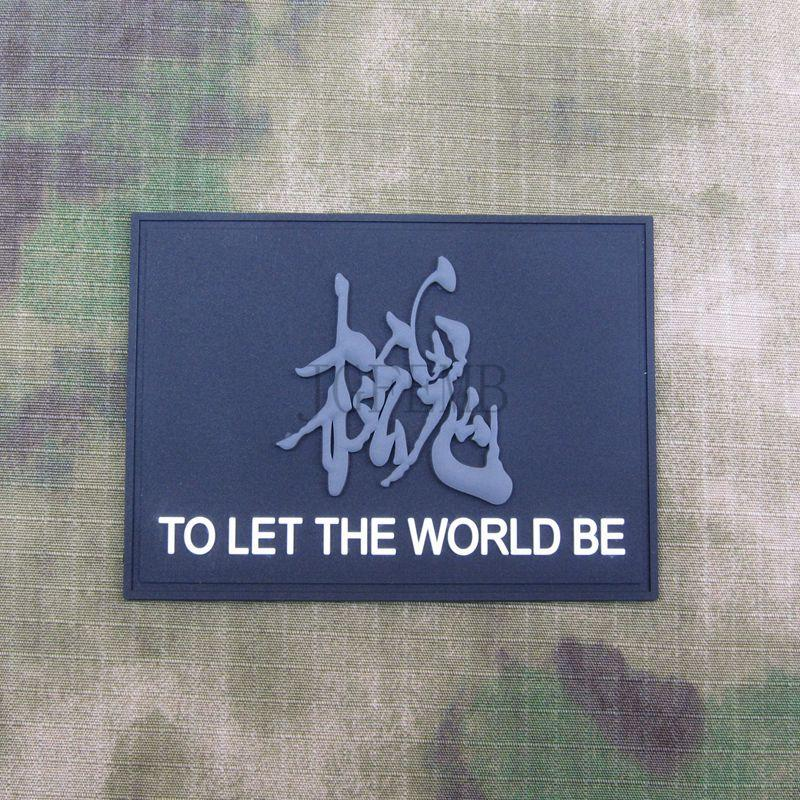 1 Pc Mgs Metal Gear Solid Snake Badges To Let The World Be Morale Tactics 3d Pvc Badge Badges Arts,crafts & Sewing