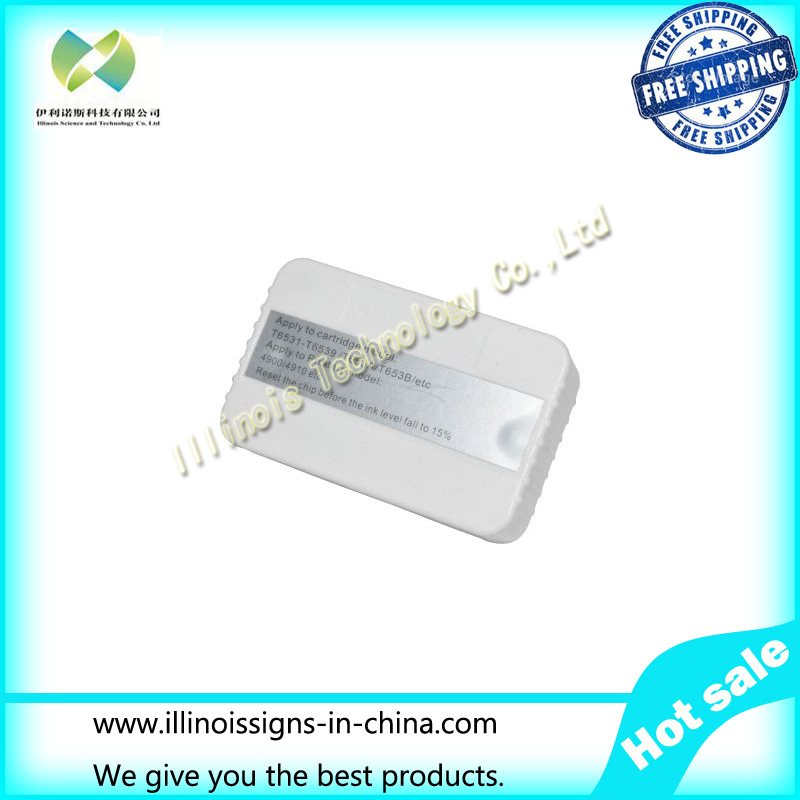 Chip Resetter for F186000/DX4/DX5/DX7 Stylus Pro 4910 Refillable Ink Cartridge F186000/DX4/DX5/DX7 cs dx18 universal chip resetter for samsung for xerox for sharp toner cartridge chip and drum chip no software limitation