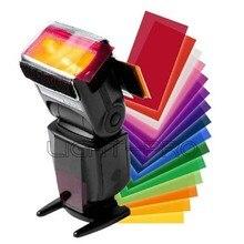 цена на Universal Flash Speedlight Speedlite Color Filter Kit For Canon Nikon Pentax DSLR Camera