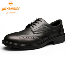 Military work shoes,Genuine Leather Safety shoes boots men,Anti-slip Breathable Reflective Black Mens Business Shoes,plus size