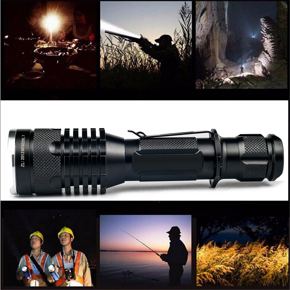 UniqueFire Newest 2220 Waterproof Cree U2 LED Flashlight High Power 1200LM Mini Lamp 3 Mode Camping Equipment Torch Flashlight 1200lm uniquefire cree xml led flashlight high power led torch mini pocket portable lamp for camping power by 16340 battery