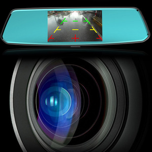 Image 5 - AOSHIKE 5.0 Inch IPS High Definition Screen Front And Rear HD 1080P Dual Lens Driving Recorder Car DVR Night Vision Dual lens