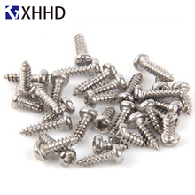 Phillips Pan Round Head Self Tapping Electronic Screw Metric Thread Cross Recessed Bolt 304 Stainless Steel M1 M1.2 M1.4 M1.7 M2 стоимость