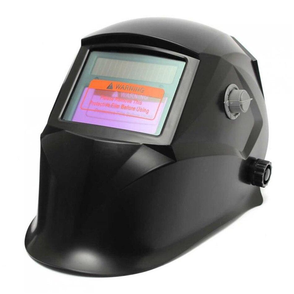 New Durable Design Black Solar Welder Mask Electrowelding Auto-Darkening Welding Helmet  цены