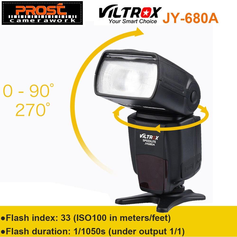 Ad Alte Prestazioni VILTROX JY-680A LCD Universale Flash Speedlight per Canon Nikon Pentax Olympus
