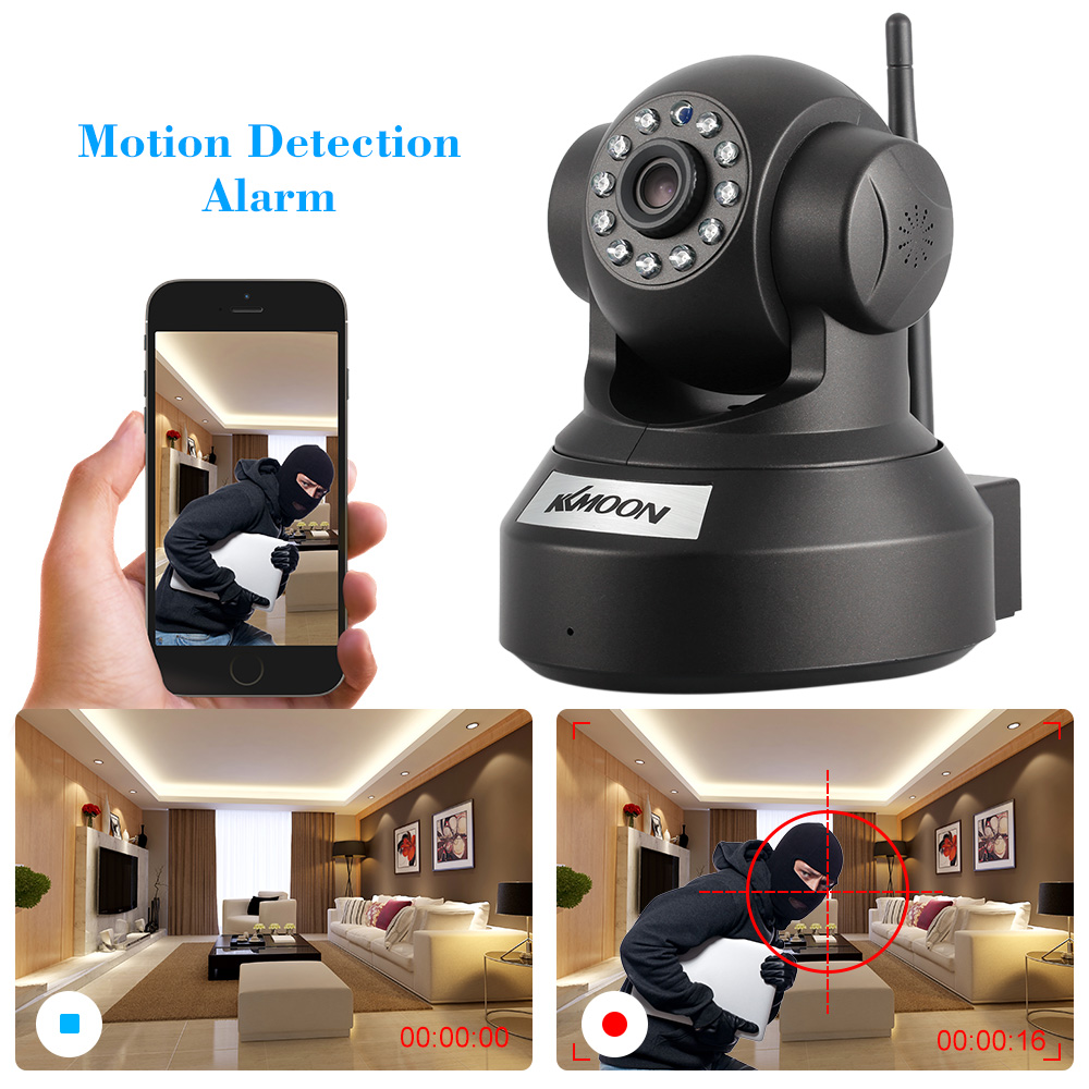 KKmoon Wireless Wifi 720P HD Camera Live video to Phone and PC Night Vision