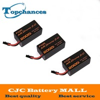 3PCS Newest High Capacity 2000mAh 11 1V Powerful Li Polymer Battery For Parrot AR Drone2 0