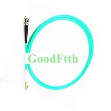 Patch Cord in fibra Cavo di Ponticello ST LC Multimodale OM3 Simplex GoodFtth 20 100 m