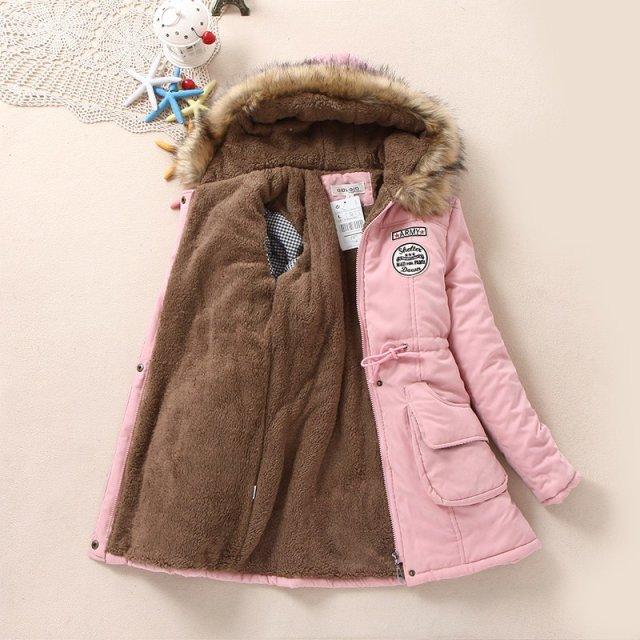 Winter Warm Berber Fleece Women Jackets Coat Women's ...