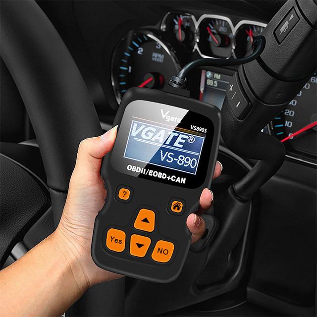 2019 Vgate VS890 Updated version VGATE VS890S OBD2 Scanner Auto Code Reader Multi-language OBDII OBD 2 Car Diagnostic Tool