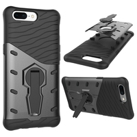 Innovation OnePlus 5 A5000 Case TPU & PC Dual Armor Capa With Stand Hard Silicone Back Cover For OnePlus5 One Plus 5 Phone Case
