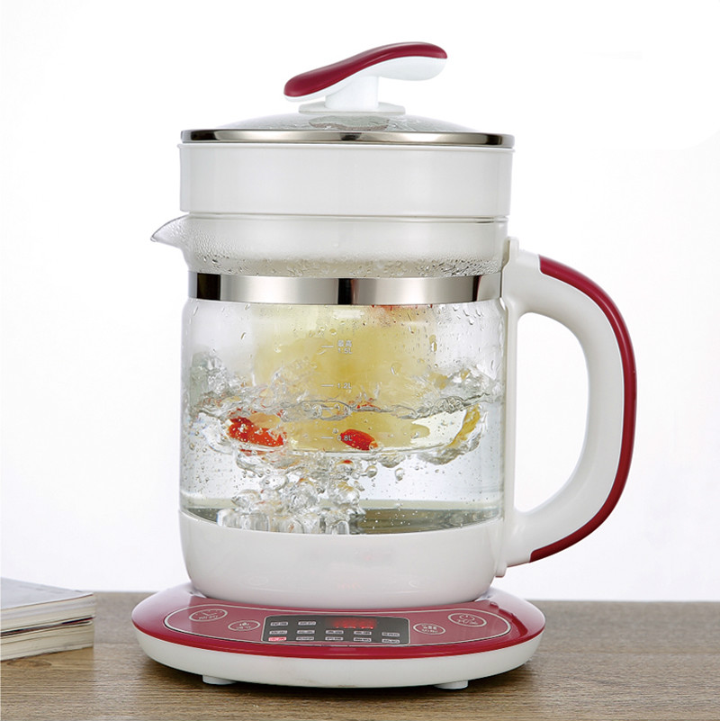Electric kettle Raise pot bird's nest with full automatic multi-purpose glass stews and electric cooking Overheat Protection