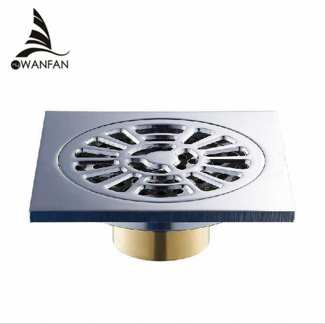 Wysokiej jakości 10 cm podłoga spustowy odpływ liniowy do prysznica filtr kanalizacji statku drenażu łazienka sanitarne odpadów ruszt HJ-8566T