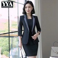 1308bb6a14a8c Buy women office korean dress suit and get free shipping on ...