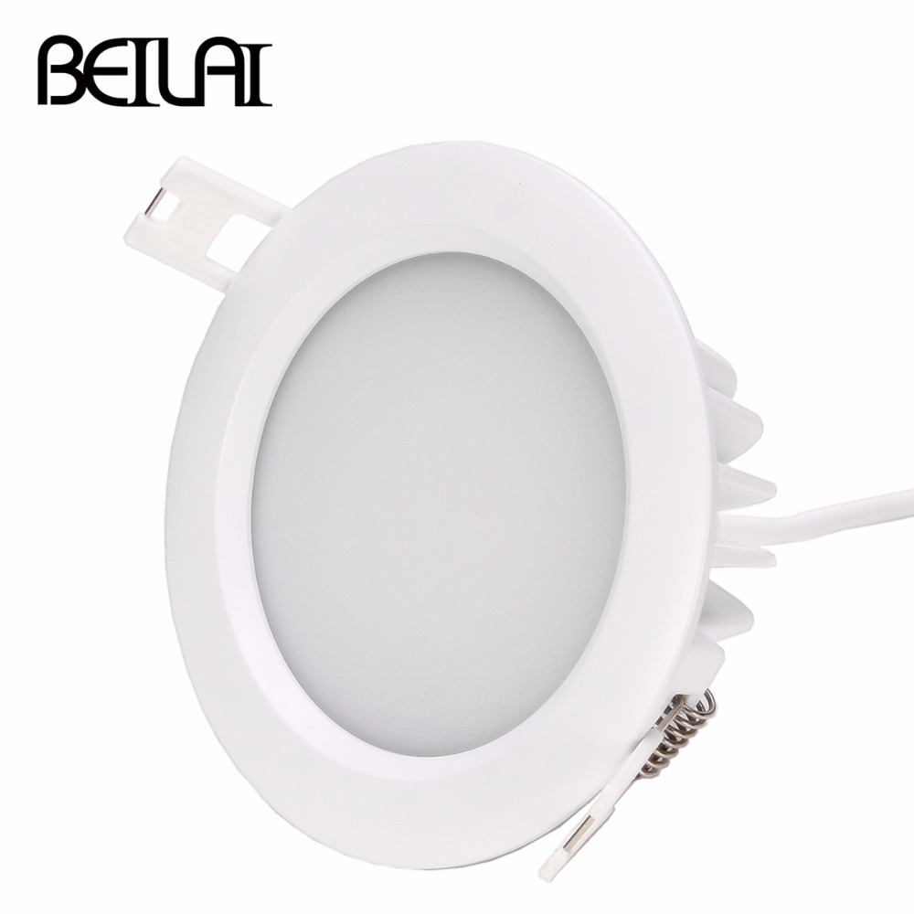 Mi Light 6w Rgb+cct Led Downlight Waterproof Ac85-265v Dimmable Led Downlight By Mi Light Remote Control Indoor Lighting A Plastic Case Is Compartmentalized For Safe Storage Lights & Lighting