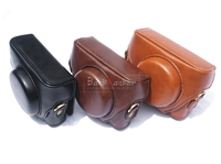 Camera Video Bag PU Case Cover Pouch With Strap For Sony RX100 RX100II RX100III RX100IV RX100V
