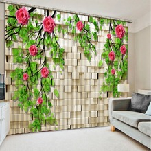 modern curtains Branch Flowers window treatments living room cafe kitchen curtains geometric curtains white curtains