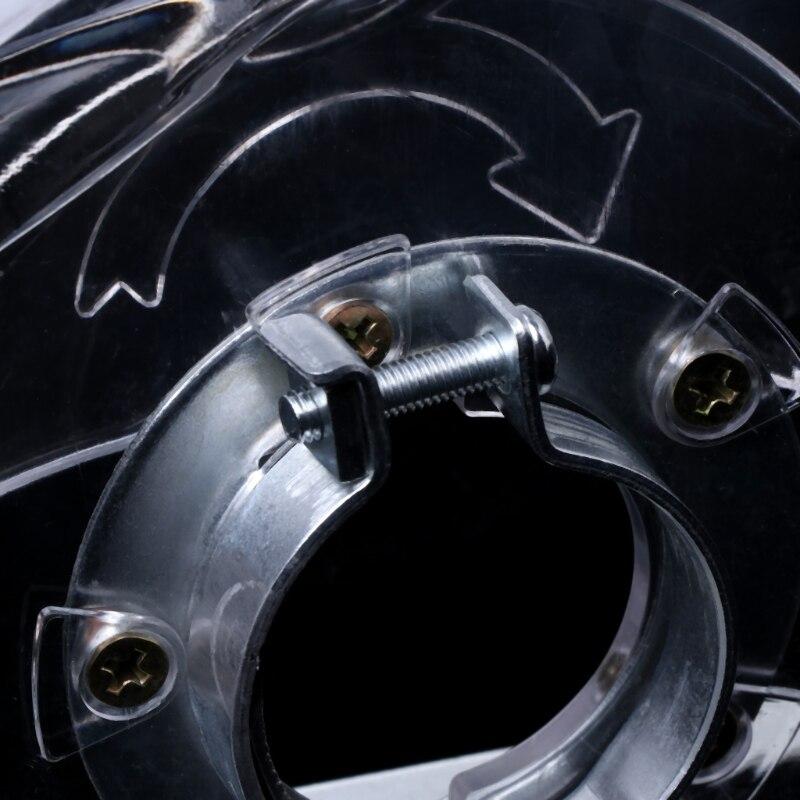 """Image 5 - Chiaro Taglio Sudario di Polvere di Macinazione Della Copertura Per Angle Grinder & 3 """"/4""""/5 """"Seghe LameAccessori per utensili elettrici   -"""