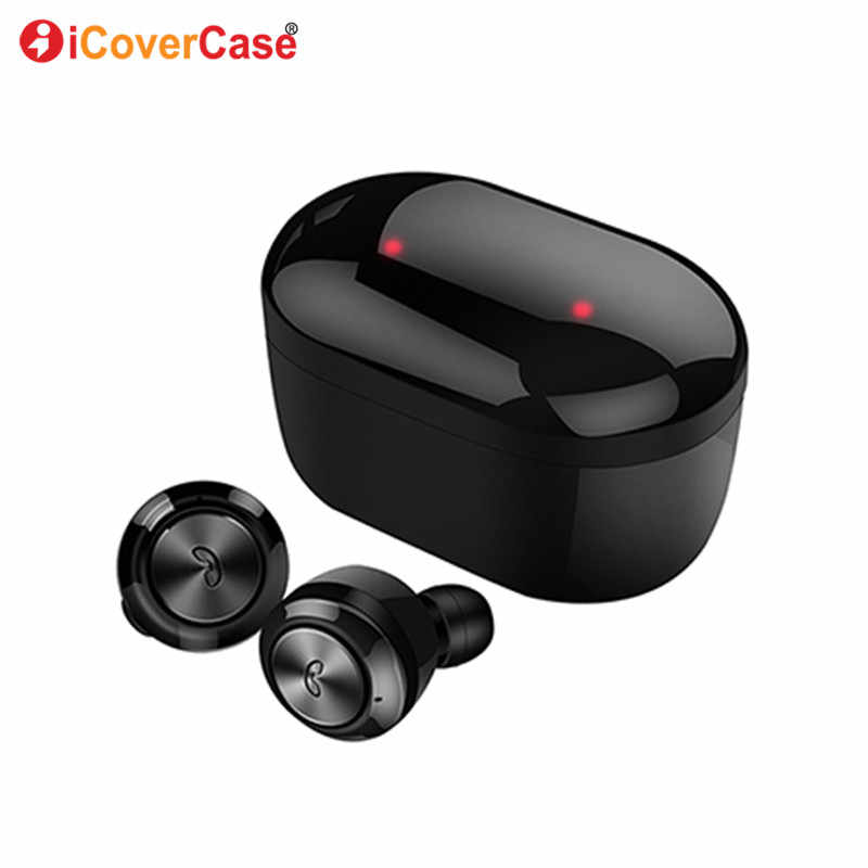 Twins Bluetooth Earphone Headphone For Sony Xperia Xz3 Xz2 Compact Xz2 Premium Case Earbud Wireless Headset Charging Power Bank Aliexpress