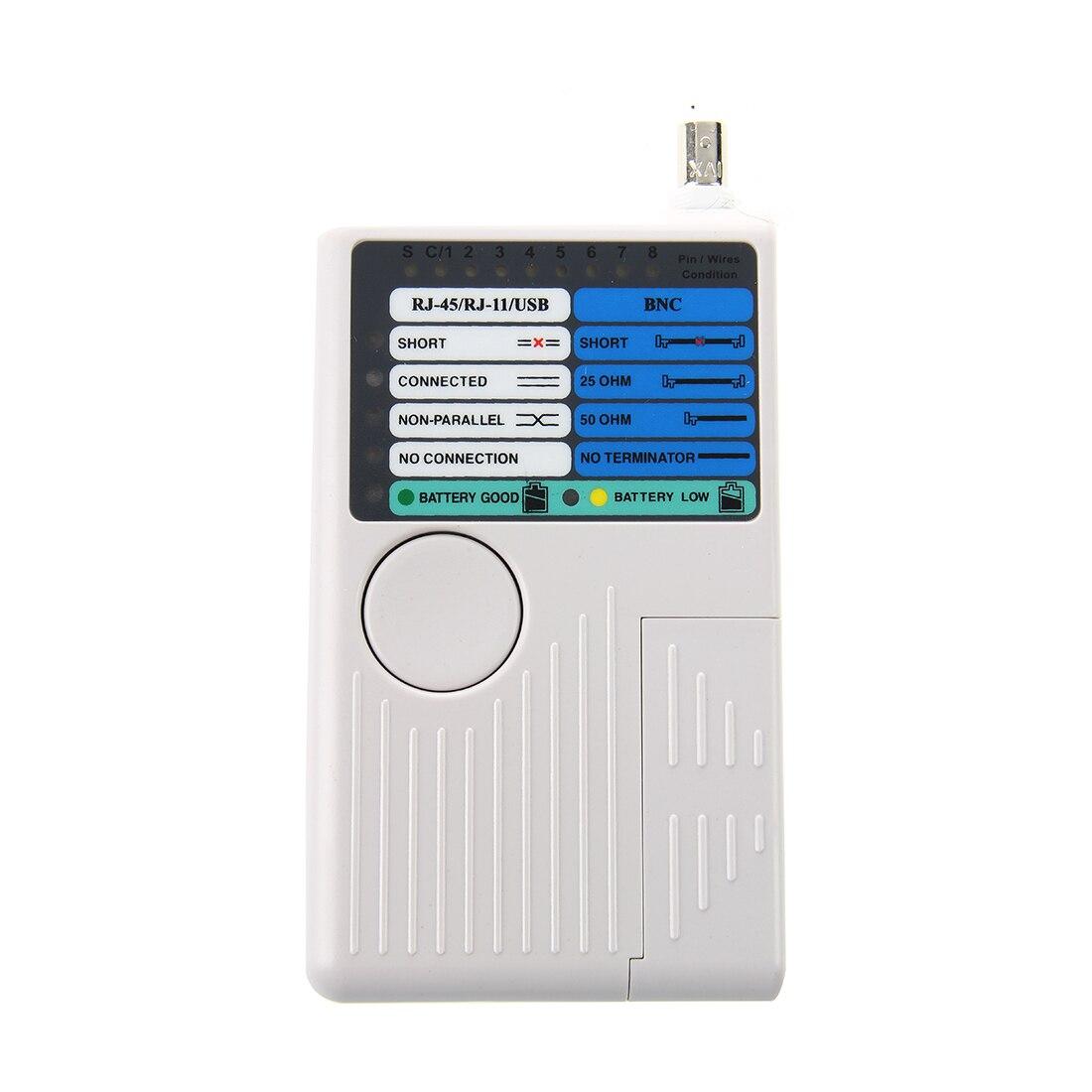 4 в 1 RJ11 RJ45 USB BNC LAN Ethernet телефонной сети кабельного тестера