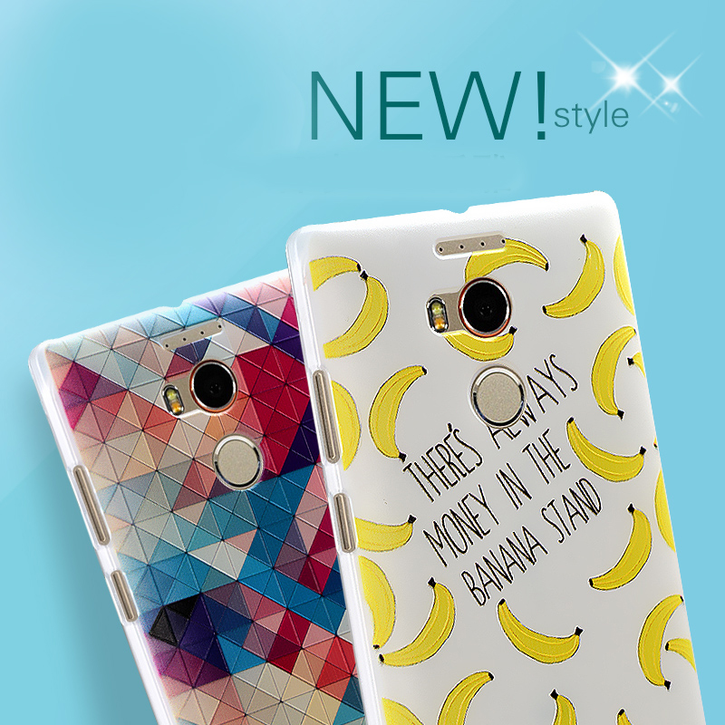 Draw Pattern Printed TPU Covers for Qmobiles