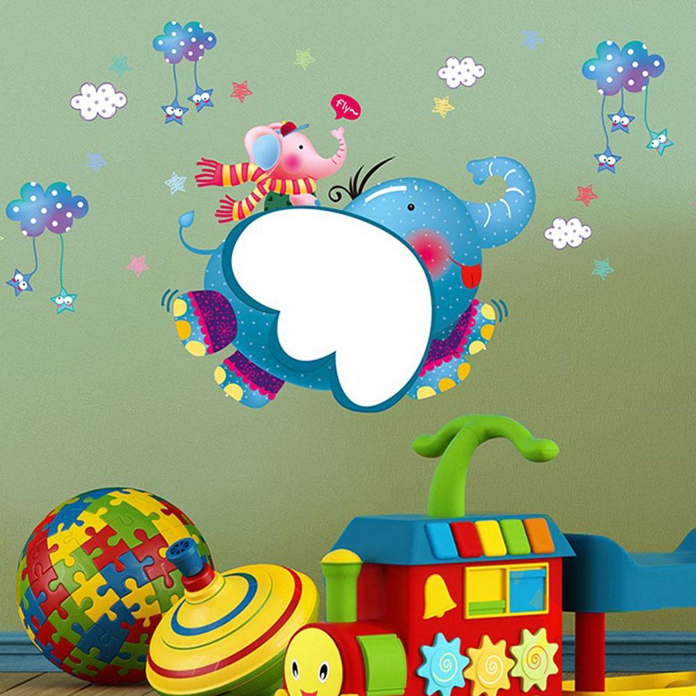 pvc pegatinas de pared combinacin dumbo para de nios decoracin mural extrable pegatinas de
