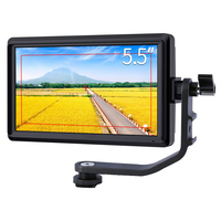5.5 inch Camera Field Monitor 4K HDMI Camera External Monitoring Full HD 1280x720 IPS LCD Display 8.4V DC Output for Sony Nikon