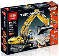 LEPIN TECHNIC VOLVO Excavator legoing technic L350F Motorized 20007 8043 Building Blocks Bricks 20008 Wheel Loader 42030