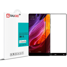 RAUGEE 9H 2.5D Tempered Glass For Xiaomi mi Mix Pro Smartphone Anti-explosion Full Cover Screen Protector Film 6.4inch